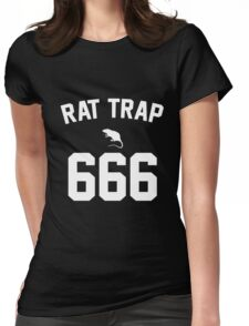 Rat Trap 666 Womens Fitted T-Shirt