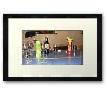 Crisps and Booze Framed Print