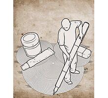 Drawing Zen - Print Photographic Print