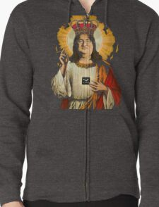 Our Lord Gaben T-Shirt Zipped Hoodie