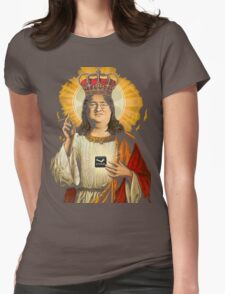 Our Lord Gaben T-Shirt Womens Fitted T-Shirt