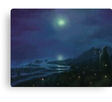 Firefly Coast Canvas Print