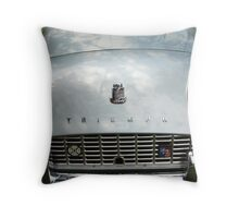 The art of the car: Triumph TR-3A (1962) > Throw Pillow