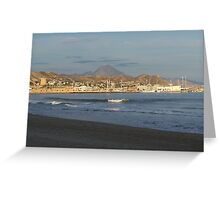 Land & Sea Greeting Card