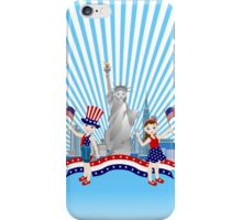 On Independence Day iPhone Case/Skin