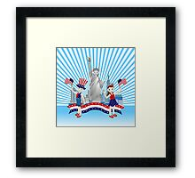 On Independence Day Framed Print