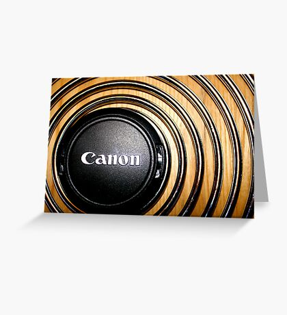 canon Greeting Card