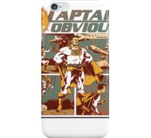 Captain Obvious T-Shirt iPhone Case/Skin