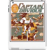 Captain Obvious T-Shirt iPad Case/Skin