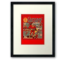 Captain Obvious T-Shirt Framed Print