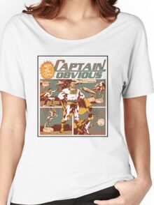 Captain Obvious T-Shirt Women's Relaxed Fit T-Shirt