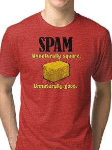 Spam Precooked Meat Tri-blend T-Shirt