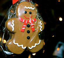 ginger bread man by Chelsea Shoesmith