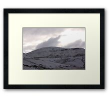 Looking Towards High Seat Framed Print