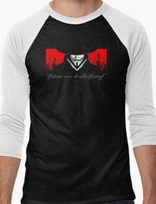Vendetta Men's Baseball ¾ T-Shirt