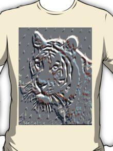 Embossed Tiger T-Shirt