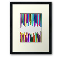 Colorful Stripes 3 Framed Print