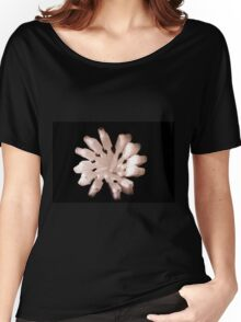 White Toothbrushes seen from above Women's Relaxed Fit T-Shirt