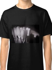 Toothbrushes in a glass Classic T-Shirt