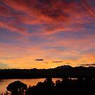Sunset over Lago Varese 1 by ShelleyB