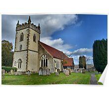 All Saints , Headley , Hampshire . Poster