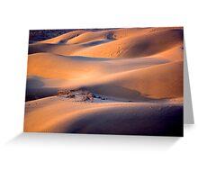 The dunes of Taar désert Greeting Card