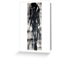 The Sensual Blue, 1 Greeting Card