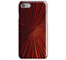 Tunnel Vision in Red iPhone Case/Skin