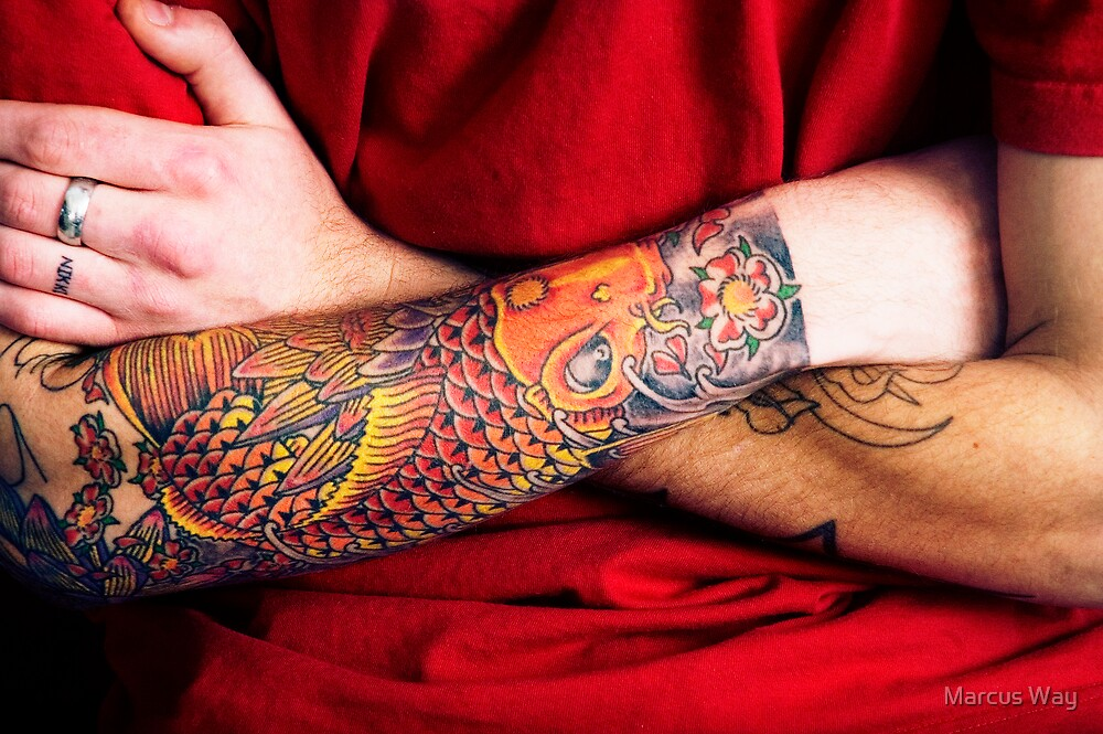 Japanese Koi  by Marcus Way