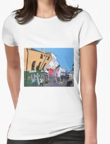 Weekend in Temple Bar Womens Fitted T-Shirt
