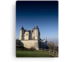 Saumur Chateau Canvas Print