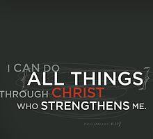 Philippians 4:13 by Dallas Drotz