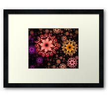 Hands Full of Flowers Framed Print
