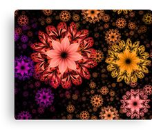 Hands Full of Flowers Canvas Print