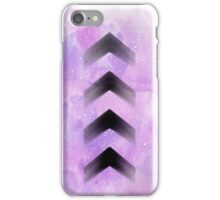 Purple Arrows iPhone Case/Skin