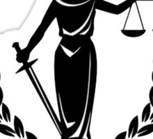Lawyer's Love the Law - Allegedly Sticker