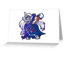 Sorcerer Pony Greeting Card