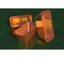 Still Life - Copper Pans Photographic Print