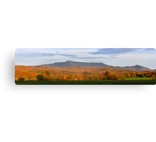 Mount Mansfield Foliage - Panorama Canvas Print