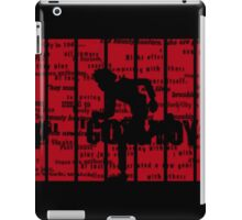 Running Spike Spiegel iPad Case/Skin