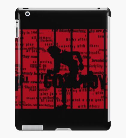 Running Spike Spiegel iPad Case/Skin