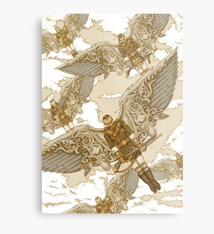 Peregrine Squadron on Maneuvers Metal Print