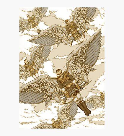 Peregrine Squadron on Maneuvers Photographic Print