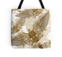 Peregrine Squadron on Maneuvers Tote Bag