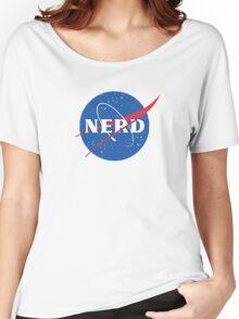 Nerd - NASA Women's Relaxed Fit T-Shirt