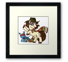 4th Dr Whooves Framed Print