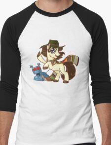 4th Dr Whooves Men's Baseball ¾ T-Shirt