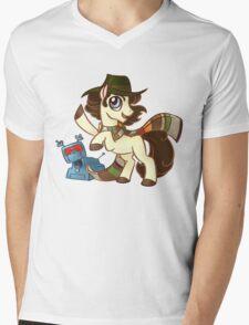 4th Dr Whooves Mens V-Neck T-Shirt
