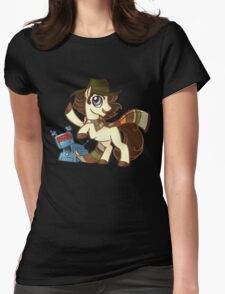 4th Dr Whooves Womens Fitted T-Shirt