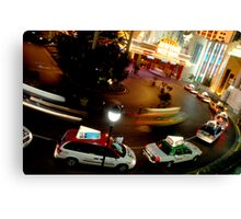 In a Vegas Second Canvas Print